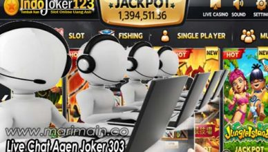 Live Chat Agen Joker 303